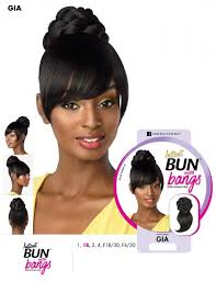 Sensationnel Bun & Bang Instant Bun With Bangs Gia