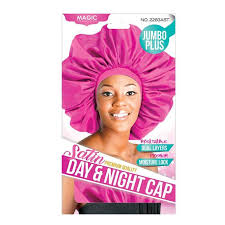 Magic Collection Jumbo Plus Satin Premium Quality Day/Night Cap