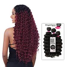 "DEEP WAVE 3PCS 24""/26""/28"" - Shake-N-Go Synthetic Mastermix Organique Weave"