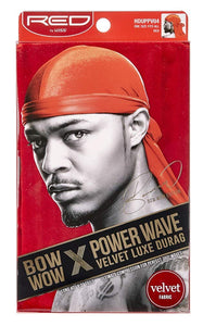 Kiss Red Durag Bow Wow Power Wave