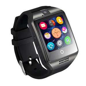 Q18 Smart Wrist Watch Bluetooth Waterproof GSM Phone For Android Samsung & iPhone