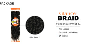Glance Braid Passion Twist 2X