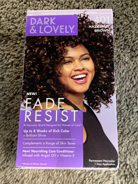 Dark and Lovely Permanent Hair Color Dye