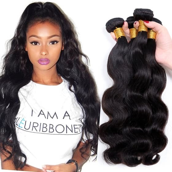 3 Bundle 10A Brazilian Unprocessed Hair Body Wave