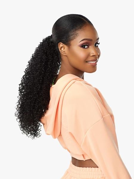 Sensationnel Instant Up & Down 1PK 4 Styles - 1 Half-Wig + 1 Pony Wrap UD3