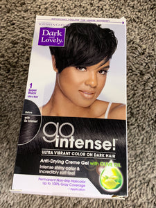 Dark and Lovely Go Intense! Permanent Hair Dye