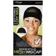 DOME STYLE MESH WIG CAP IN STRETCHABLE FABRIC WITH TIGHT BAND
