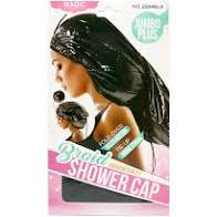 MAGIC COLLECTION JUMBO PLUS BRAID SHOWER CAP