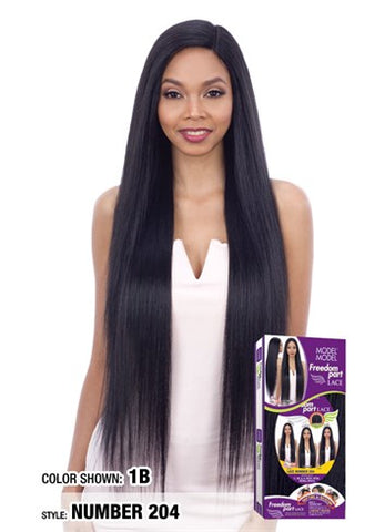 Model Model Freedom Part Lace Front Wig - Lace Number 204