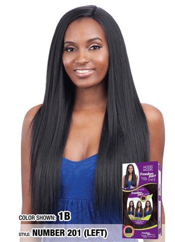 Model Model Freedom Part Lace Front Wig - Lace Number 201
