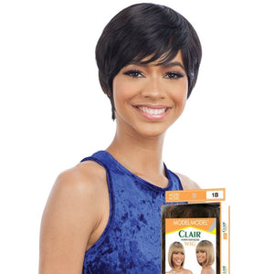Model Model Clair Human Hair Blend Wig