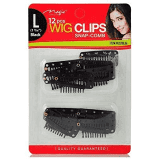 MAGIC | Wig Clip 12 pcs Black