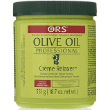 Organic Root Stimulator Olive Oil Creme Relaxer Normal 18.75 oz