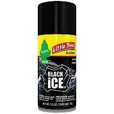 Little Trees Black Ice Car Freshener