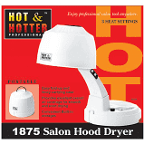 HOT&HOTTER 1875 SALON HOOD DRYER