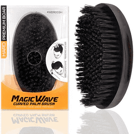 Curved Palm Wave Brush
