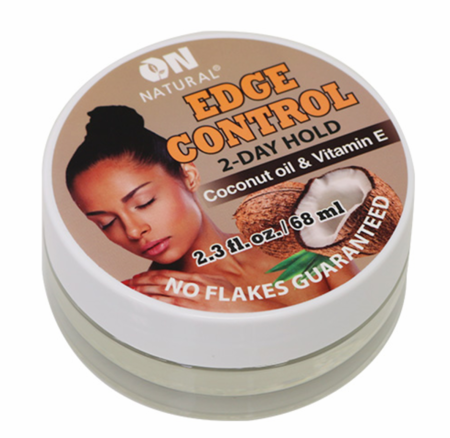 On Natural Edge Control Coconut Oil & Vitamin E 1 oz