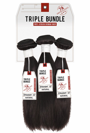 Brazilian Unprocessed Hair Triple Multi Bundle Pack