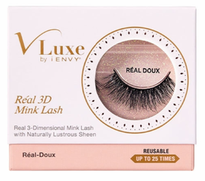 V-Luxe iENVY Real 3D Mink Lash Naturally Lustrous Sheen Collection