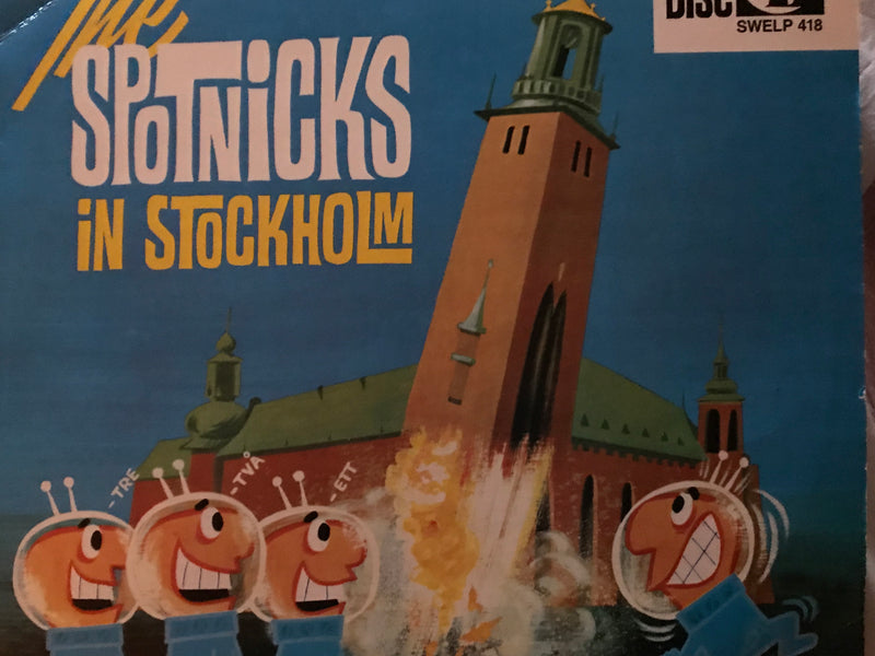The Spotnicks In Stockholm LP