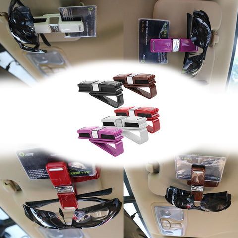 Card Ticket Clip Interior Accessories