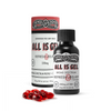 <big><b>ALL IS GEL</b></big><br> 10ct 25mg + Curcumin Soft Gels