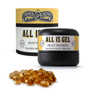 <big><b>ALL IS GEL</b></big><br> 30ct 10mg Soft Gels