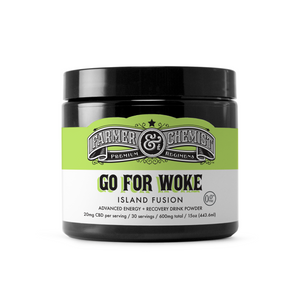 <big><b>GO FOR WOKE</b></big><br> 15oz. Energy Drink Powder