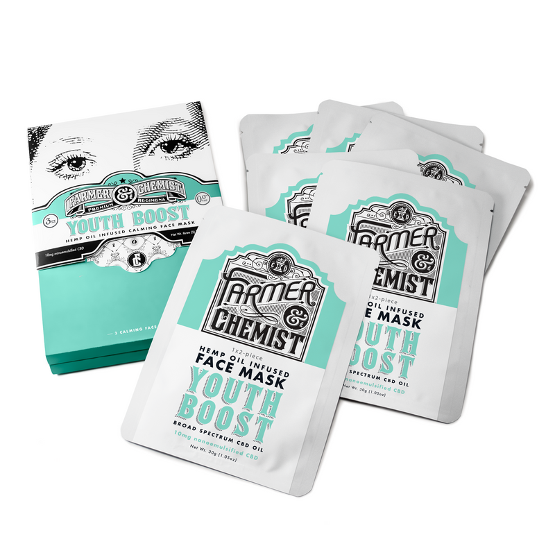 <big><b>YOUTH BOOST</b></big><br> Face Mask 6-Pack