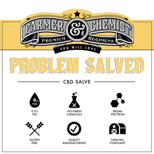 <big><b>PROBLEM SALVED</b></big><br> 1oz. 1920mg with Chamomile and Vanilla