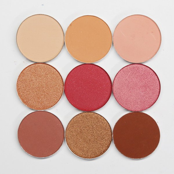 Rosé eyeshadow palette - By Jess D