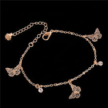 Load image into Gallery viewer, Dainty Butterfly Anklet