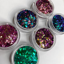 Load image into Gallery viewer, Duochrome Glitter Flakes Bundle
