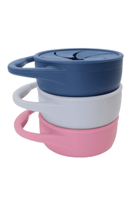 Silicone Snack Cup // Midnight Blue