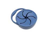Load image into Gallery viewer, Silicone Snack Cup // Midnight Blue