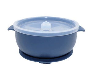 Silicone Suction Bowl // Midnight Blue