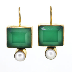 Baroque Green and Pearl