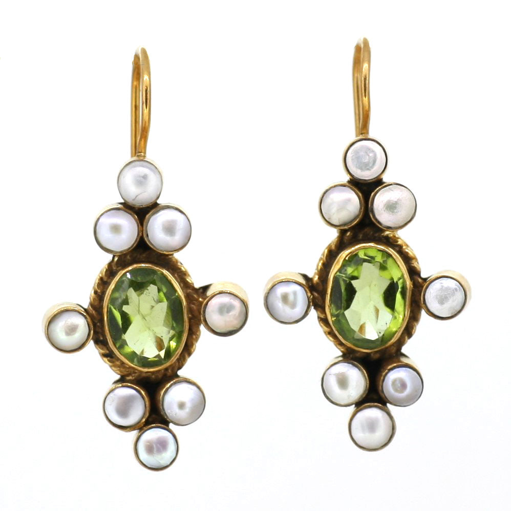 Peridot and Pearls