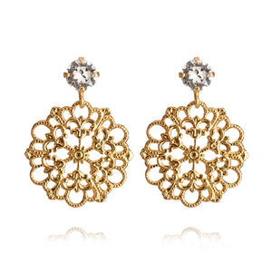 Andrea earrings, Crystal