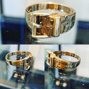 Vintage Gent's Buckle Ring