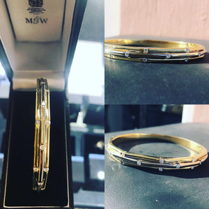 Mappin & Webb Diamond Bangle