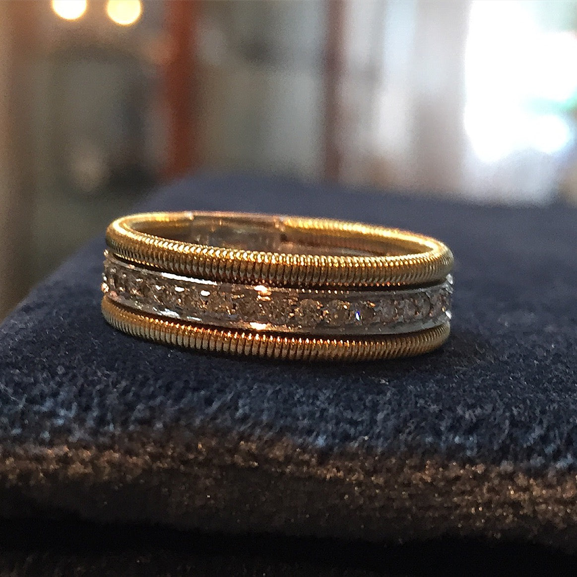 The Gold Coil Ring