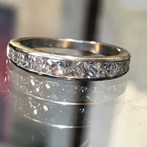 French Cut Diamond Band