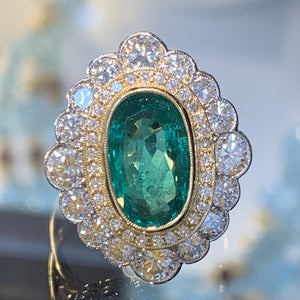 The Oval Emerald