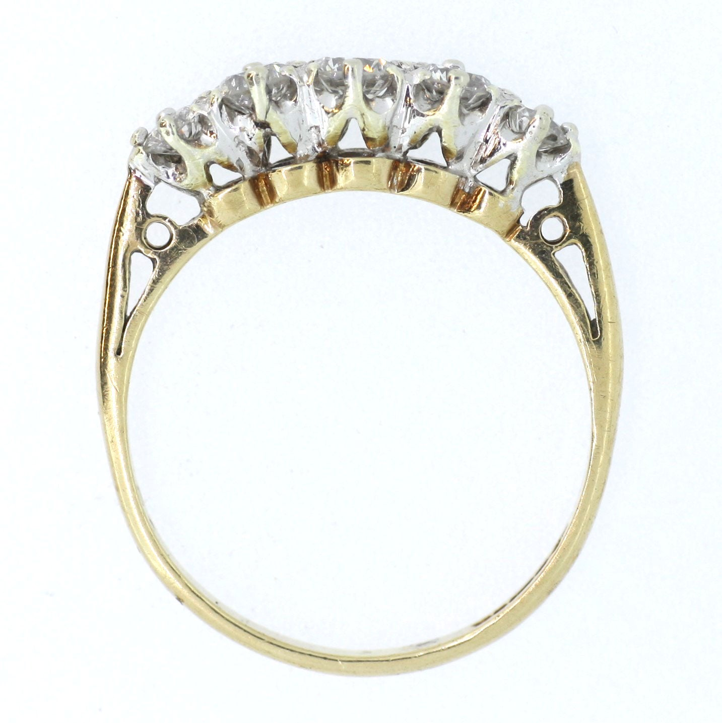 Five Stone in Yellow Gold