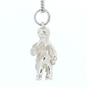 Pipe Smoking Man Charm