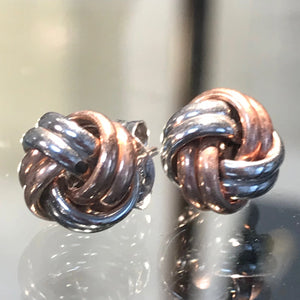Knot Earrings 2 Colour