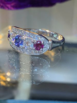 Birthstone Diamond Ring