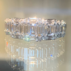 Emerald Cut Eternity