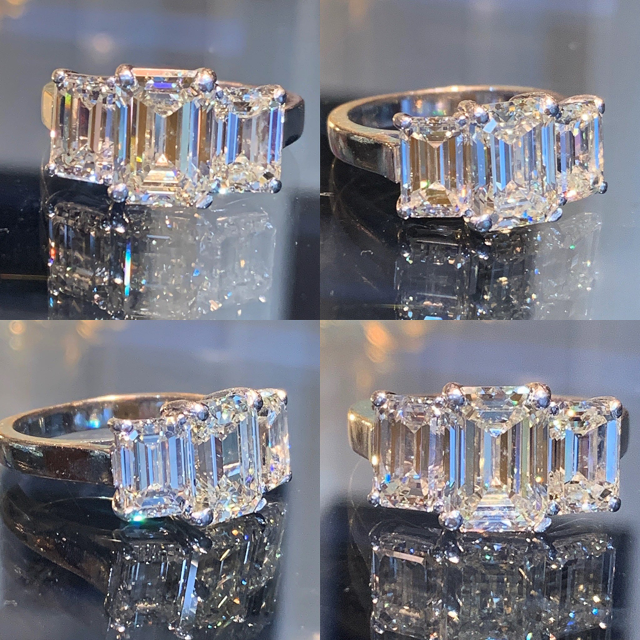 Emerald Cut Trilogy